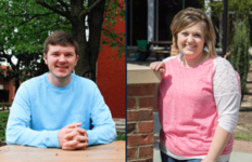 McKenna Dosier/The News Caleb Brannon and Courtney Gerstenecker were nationally recognized on the Farm Credit Fresh Perspectives 100 Honorees list.