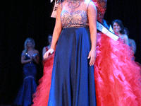 Jenny Rohl/The News Last year's winner, Tanelle Smith, crowns Ms. Murray State University 2016, Rachel Ross.