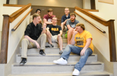 Chalice Keith/The News Cloud9 is a new a cappella group from the Phi Mu Alpha fraternity.