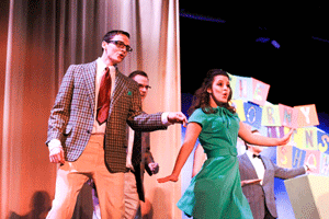 "Jenny Rohl/The News This year's Campus Lights performance brought ""Hairspray: The Musical"" to campus."