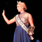 Jenny Rohl/The News Rachel Ross taking the stage after the pageant.