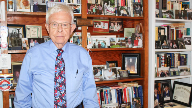Dr. Winfield Rose recognized for 50 years of teaching in the Murray State News