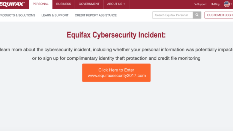 Equifax CEO steps down following disastrous data breach