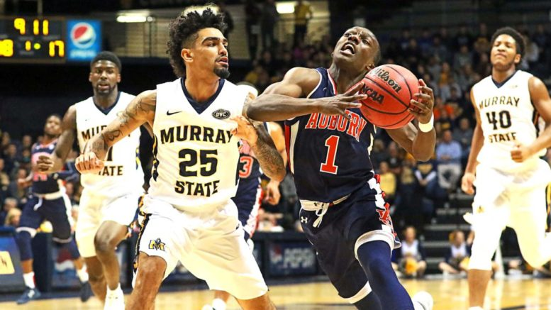 Auburn vs Murray St. - Recap, Box score