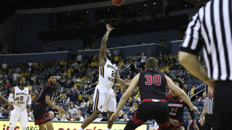 Murray State Avoids Collapse, Tops Jacksonville State in OVC