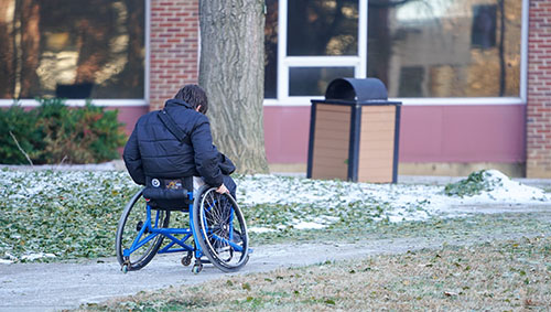 A Danger To Students With Disabilities >> Students Voice Their Concerns About Campus Accessibility